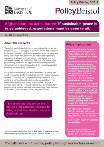 PolicyBristol Briefing, Feb 2014, 2 pages, 2.32MB